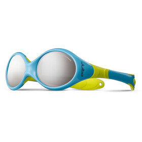 Julbo Looping II Spectron 4 Sunglasses Baby 12-24M Pastell Blue/Pastel Green-Gray Flash Silver